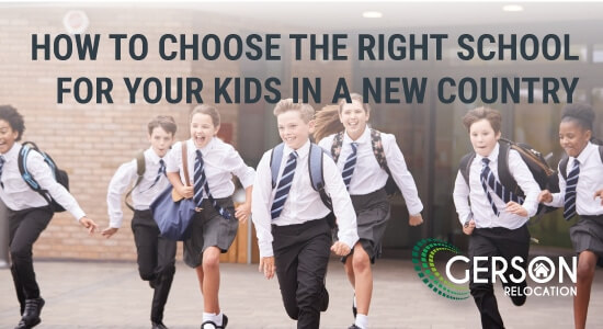 Relocation Tips How To Choose The Right School For Your Kids In A New Country