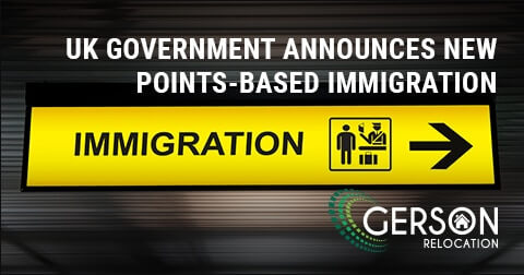 UK Points Based Immigration Effect On Relocation